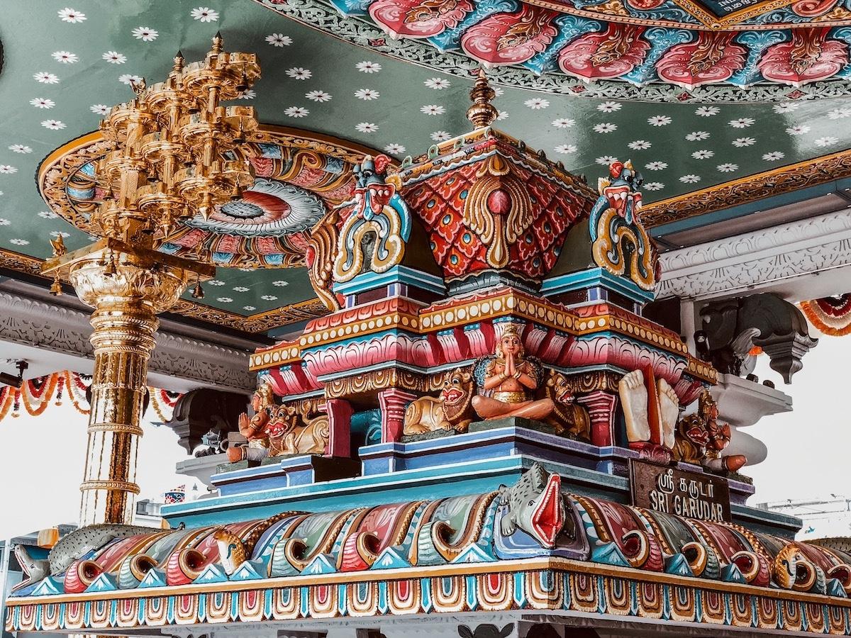 Sri Srinivasa Tempel,Sehenswürdigkeiten in Singapur, Reisetipps für 3 Tage Singapur, Little India, Chinatown, Kampong Glam, arabisches Viertel, Marina Bay, Singapur Tipps