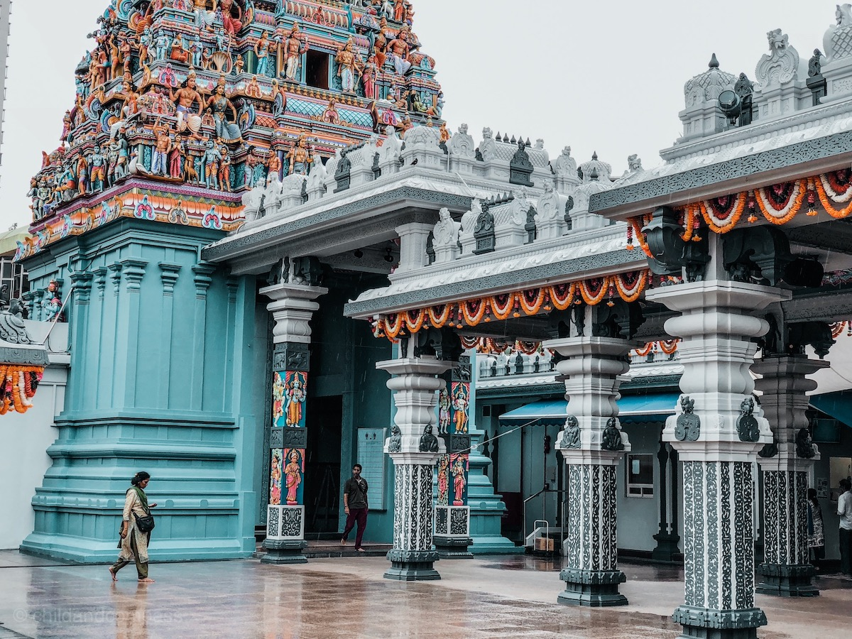Sri Srinivasa,Sehenswürdigkeiten in Singapur, Reisetipps für 3 Tage Singapur, Little India, Chinatown, Kampong Glam, arabisches Viertel, Marina Bay, Singapur Tipps