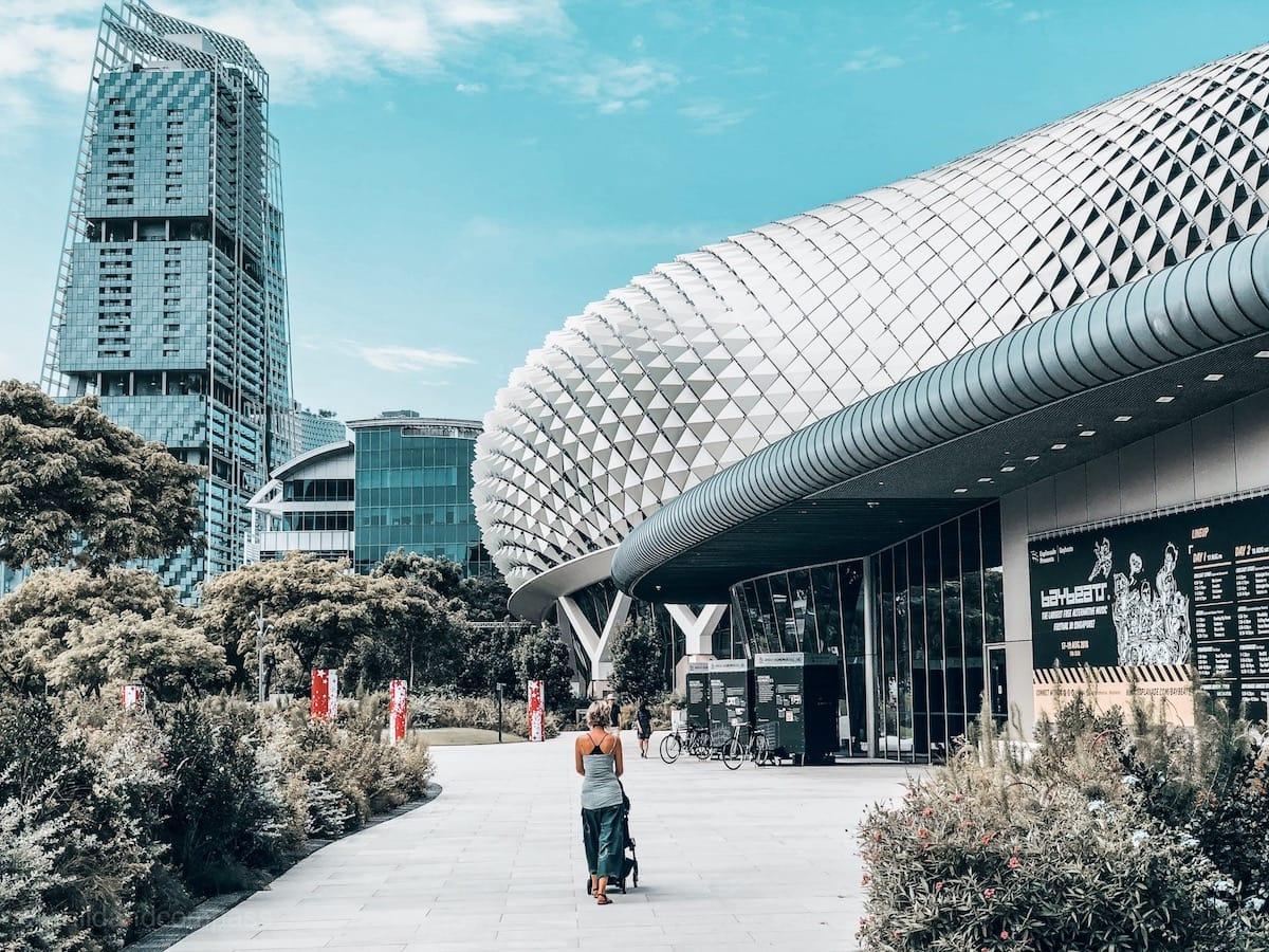 Durian, Esplanade,Sehenswürdigkeiten in Singapur, Reisetipps für 3 Tage Singapur, Little India, Chinatown, Kampong Glam, arabisches Viertel, Marina Bay, Singapur Tipps
