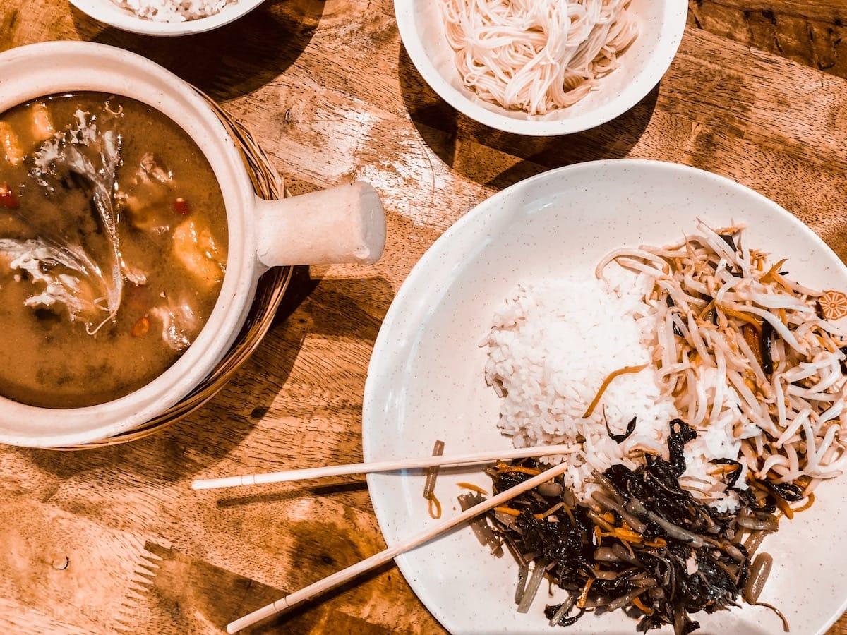 Essen in Singapur, Lau Pa Sat Food Court, Singapur Sehenswürdigkeiten