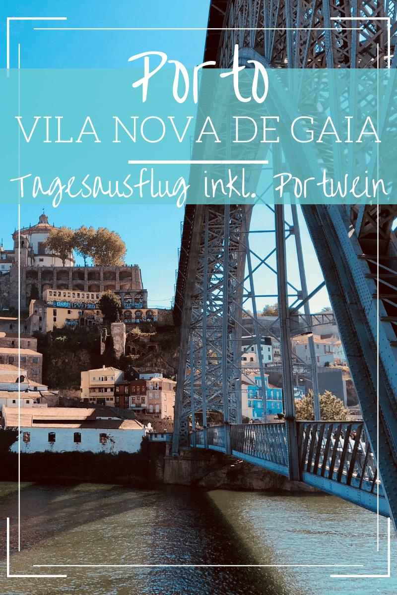Porto Tagesausflug nach Vila Nova de Gaia: Portweinkellereien, ein Kloster und der malerische Douro... verbunden mit Porto ist Vila Nova de Gaia das perfekte Ziel für einen Porto Tagesausflug