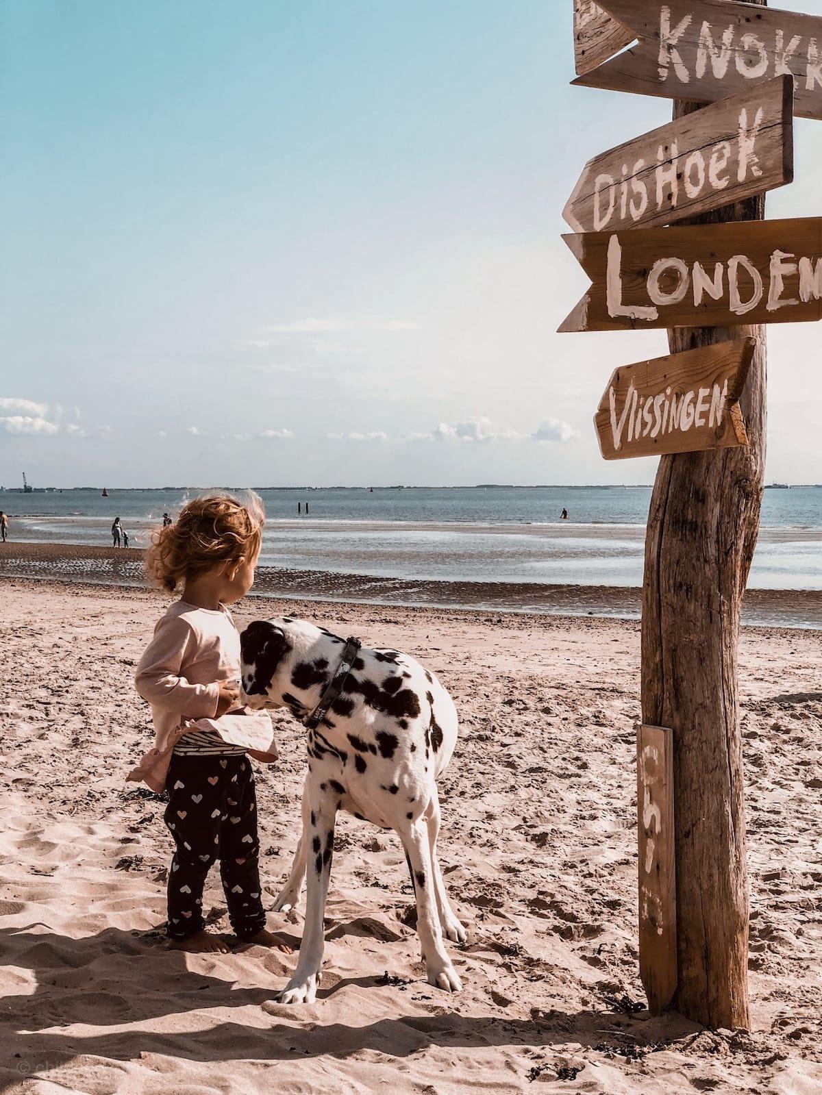 Zoutelande mit Kind und Hund, Holland Urlaub, Strände in Holland, Zeeland