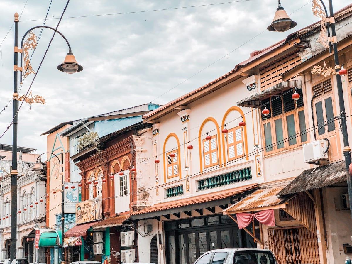 Kuala Terengganu in Malaysia - Sehenswürdigkeiten in Kuala Terengganu, Restaurants in Kuala Terengganu, Chinatown