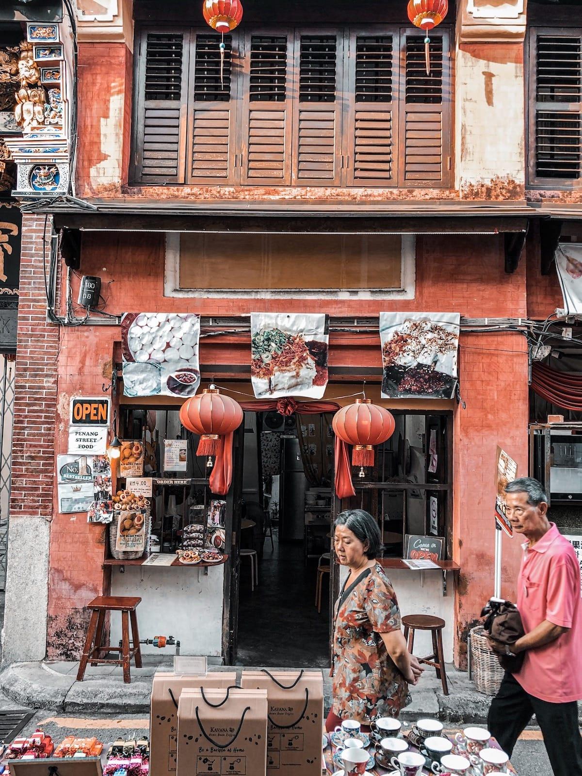 George Town Sehenswürdigkeiten auf Penang, Armenian Road George Town