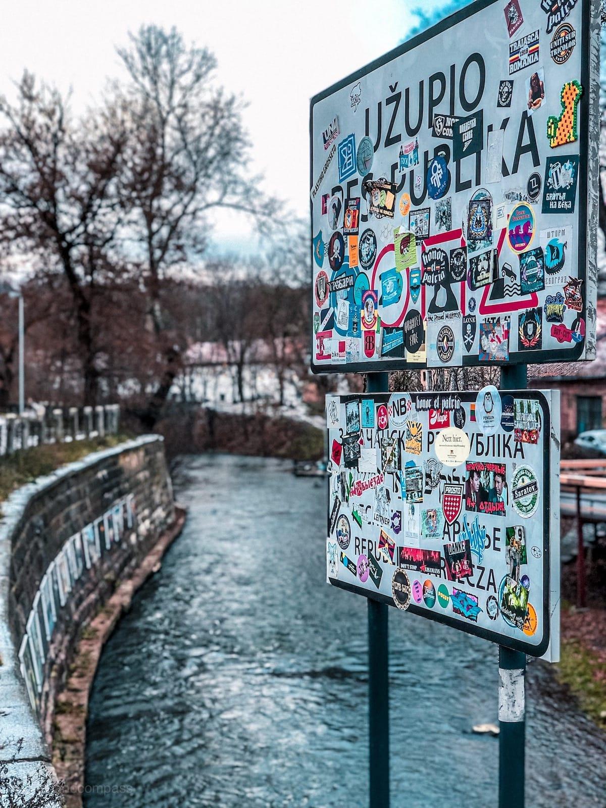 Sehenswürdigkeiten in Vilnius, Vilnius Tipps, Rundreise Baltikum Urlaub, Uzupis Republik
