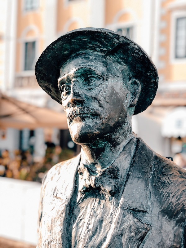 James Joyce Skulpturen in Triest